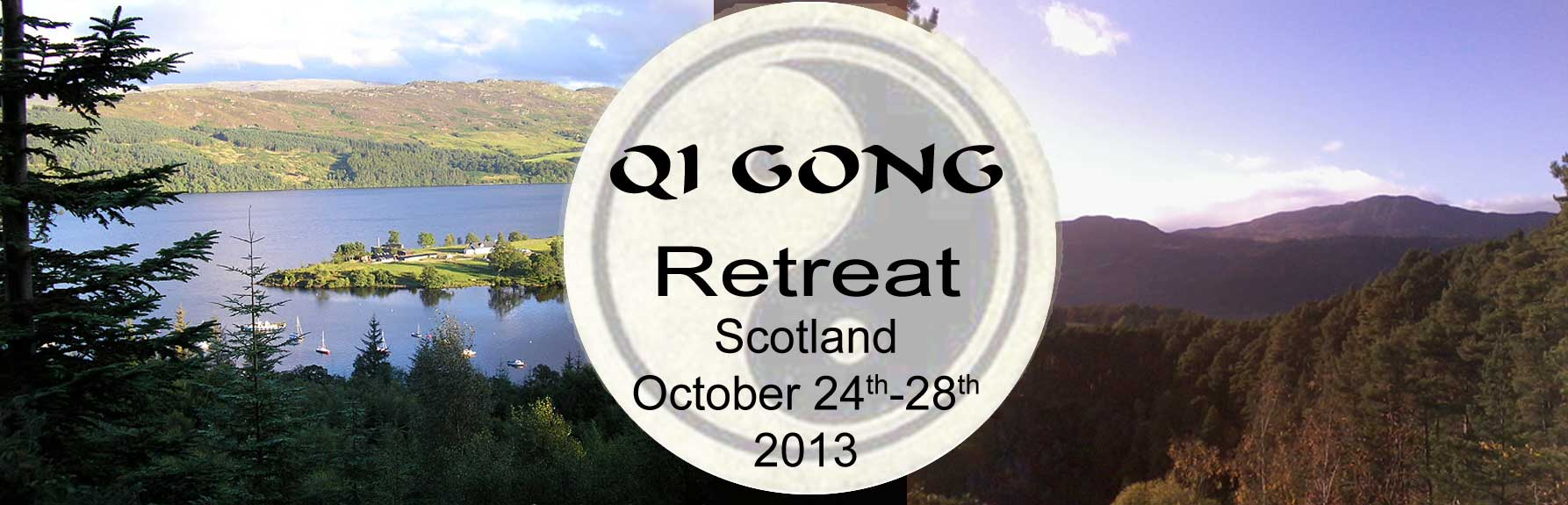 QI GONG RETREAT 24th - 28th October 2013